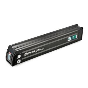 סוללה 60V 26.5Ah לאופניים חשמליים ליתיום נשלפת, במארז שחור.