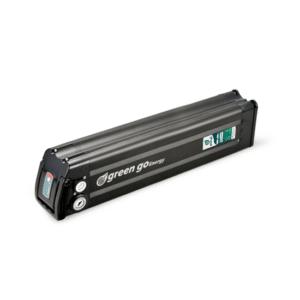 סוללה 60V 18.5Ah לאופניים חשמליים ליתיום נשלפת, במארז שחור.