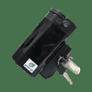 סוללה הנדריקס לאופניים חשמליים 36V 10.5Ah. לאופני גרין בייק ואופני סמארט Smart